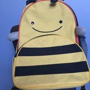 Skip Hop Brooklyn Bee Rolling Backpack